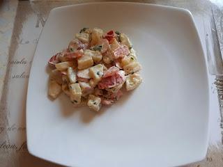 recette bypass sleeve  salade de pomme de terre