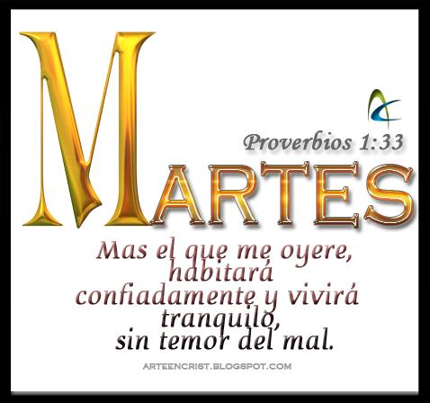 Postales Cristianas Arte en Cristo: MARTES: Promesa de