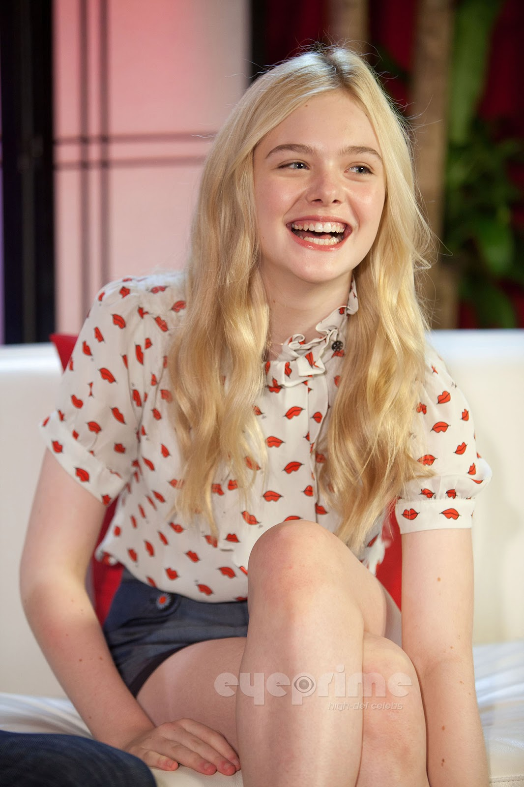 Elle Fanning Covers Fashion Magazine Says She Loves Being: Elle Fanning American Actress