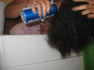 How to Do a Beer Rinse For Hair