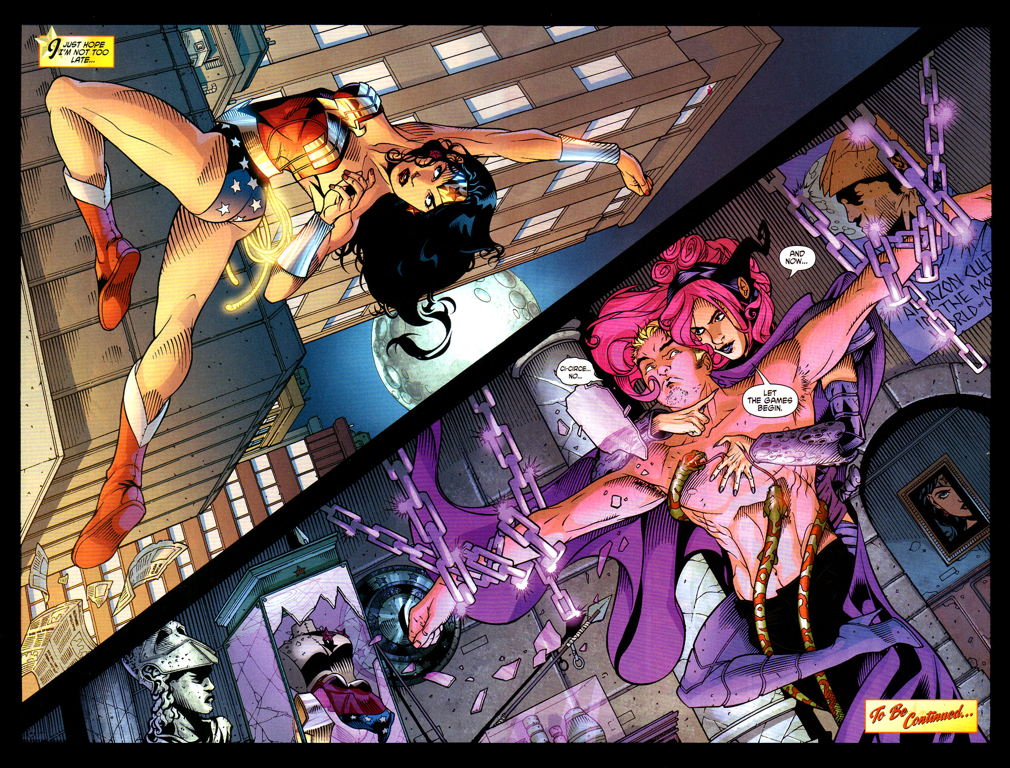 Read online Wonder Woman (2006) comic -  Issue #6 - 22