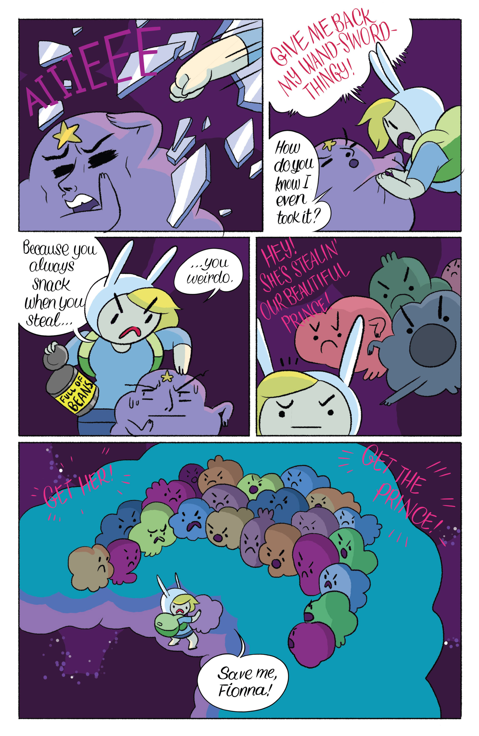 Read online Adventure Time with Fionna & Cake comic -  Issue #4 - 24