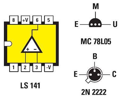 Un thermomètre avec un 2N2222