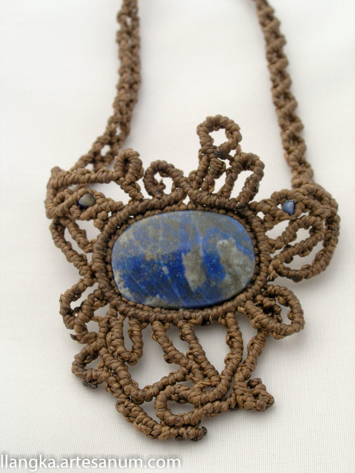 Algunas piezas con piedras de Sudamérica