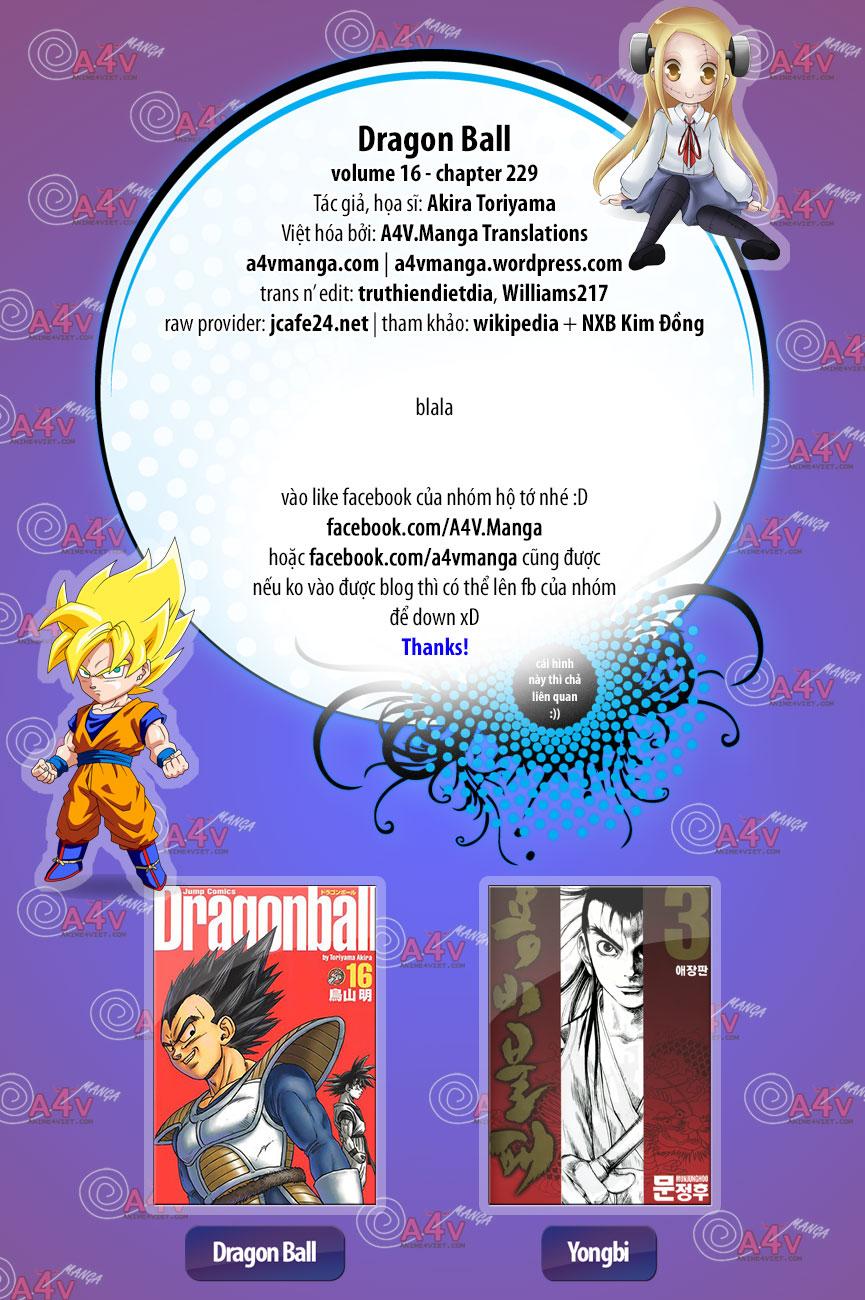 Dragon Ball chap 229 trang 15