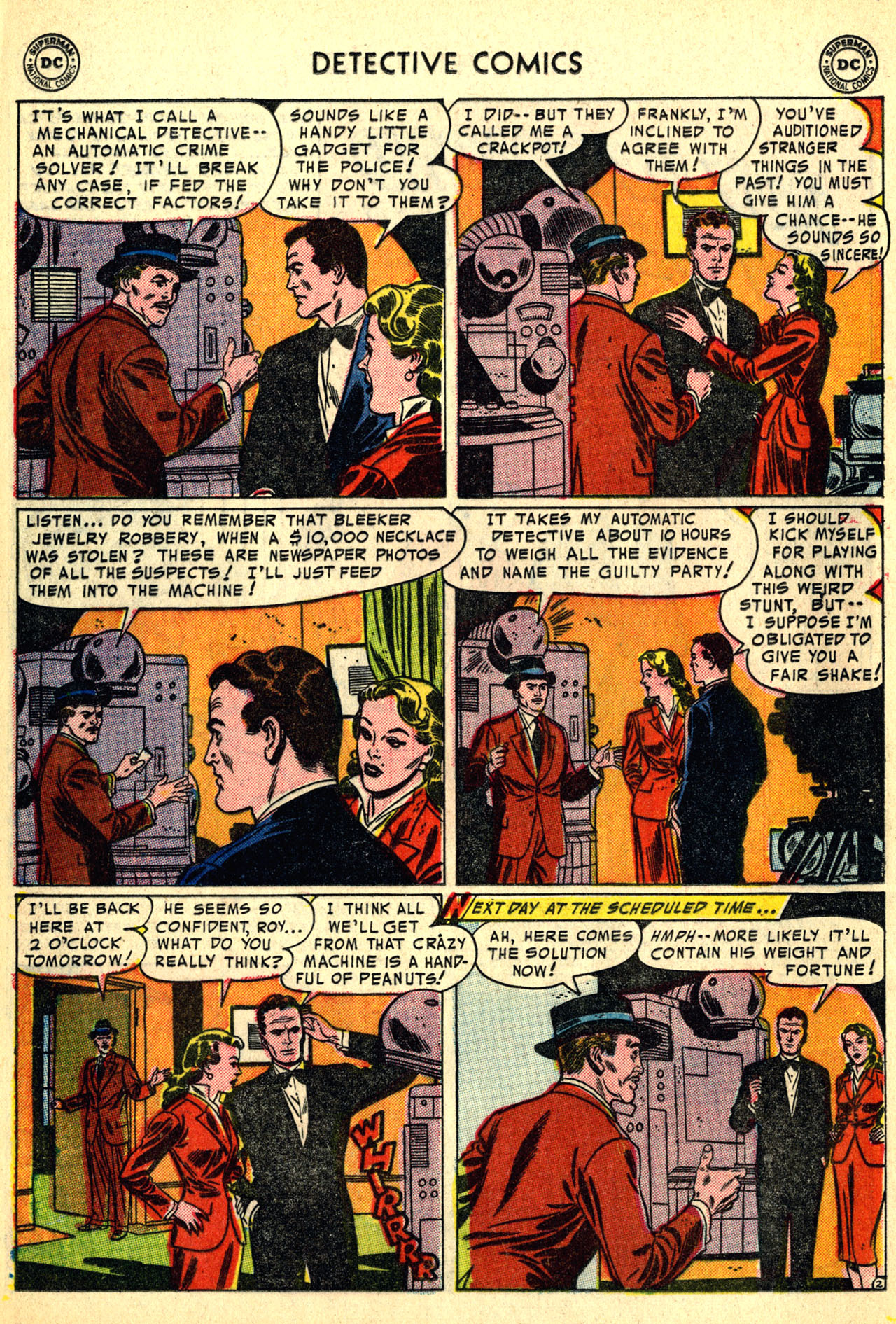Detective Comics (1937) 208 Page 17