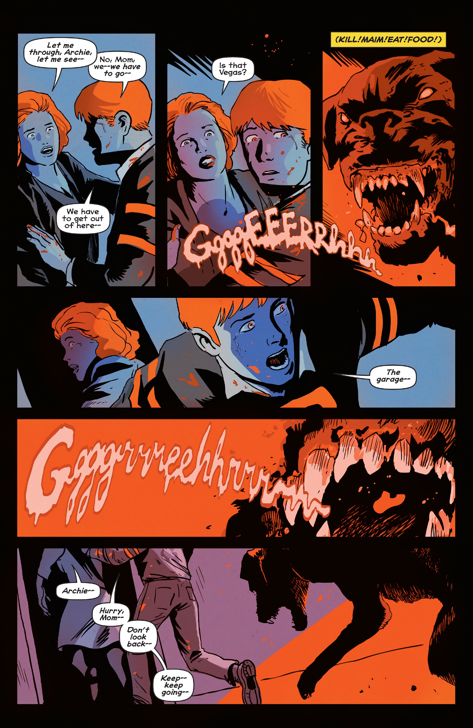 Read online Afterlife with Archie comic -  Issue #4 - 21