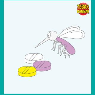 Tebak Gambar Pil dan Seekor Nyamuk
