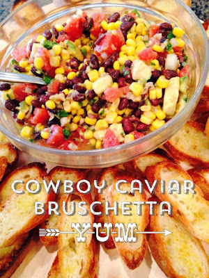 Cowboy Caviar- The style Sisters, summer appetizer, recipe
