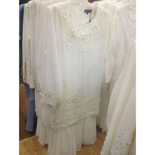 baju nikah putih murah online