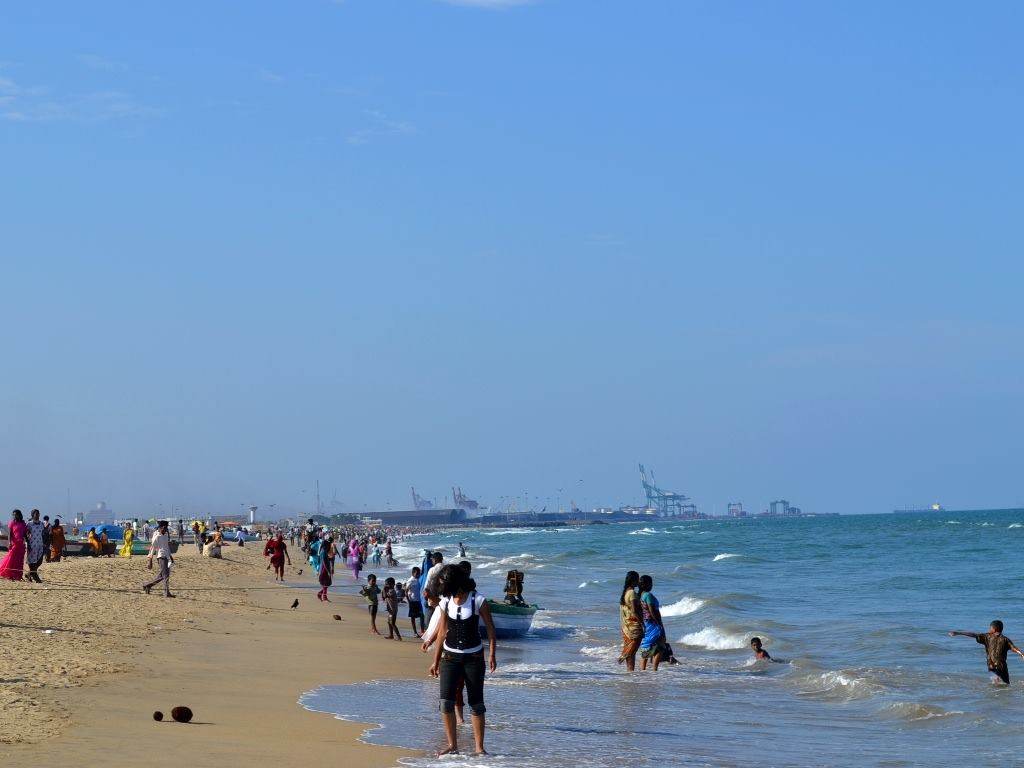 Image result for Temperature And Weather in marina beach chennai