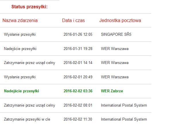 eabeb286941321 Twoja przesyłka została zatrzymana w cle z WER Zabrze?