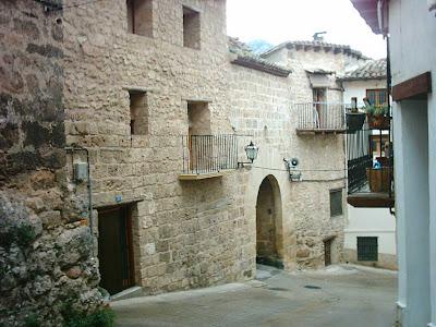 calle San Roque, San Roc, cuesta, Beceite, Beseit