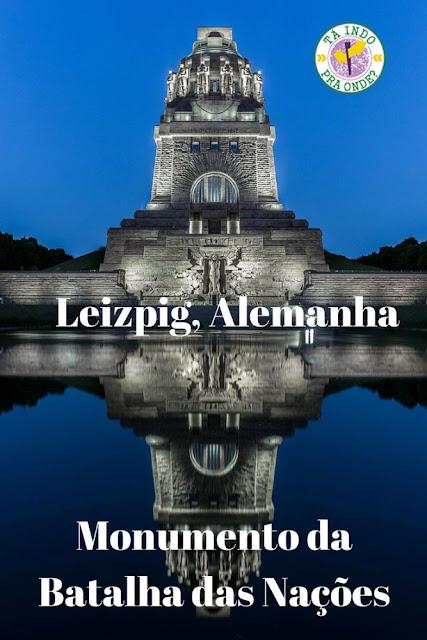 Monumento da Batalha das Nações, Leizpig, Alemanha
