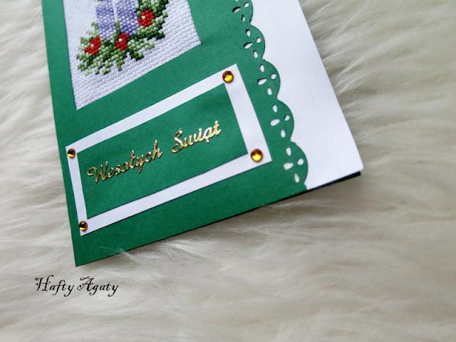 Skromna kartka bożonarodzeniowa