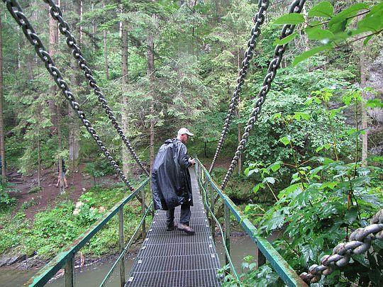 Reťazový most.