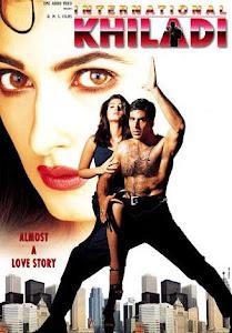 Poster Of Bollywood Movie International Khiladi (1999) 300MB Compressed Small Size Pc Movie Free Download worldfree4u.com
