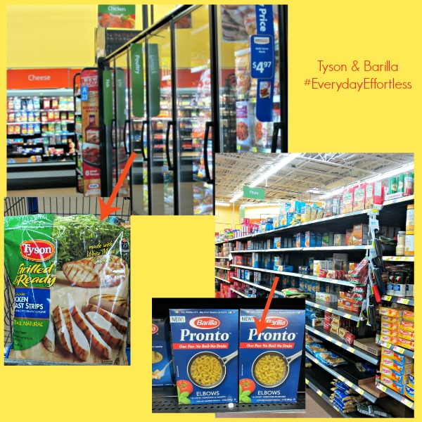 [ad] Shopping for Tyson and Barilla at Walmart  #EverydayEffortless
