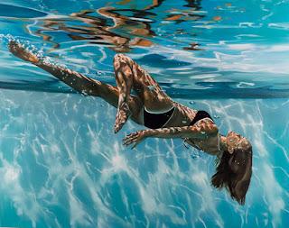 cuadros-hiperrealistas-de-chicas-en-agua