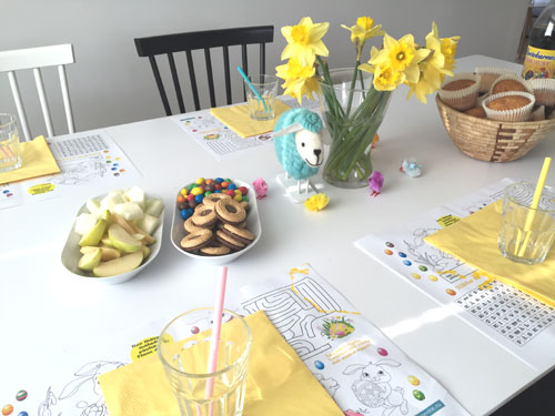 påskfest för barnen