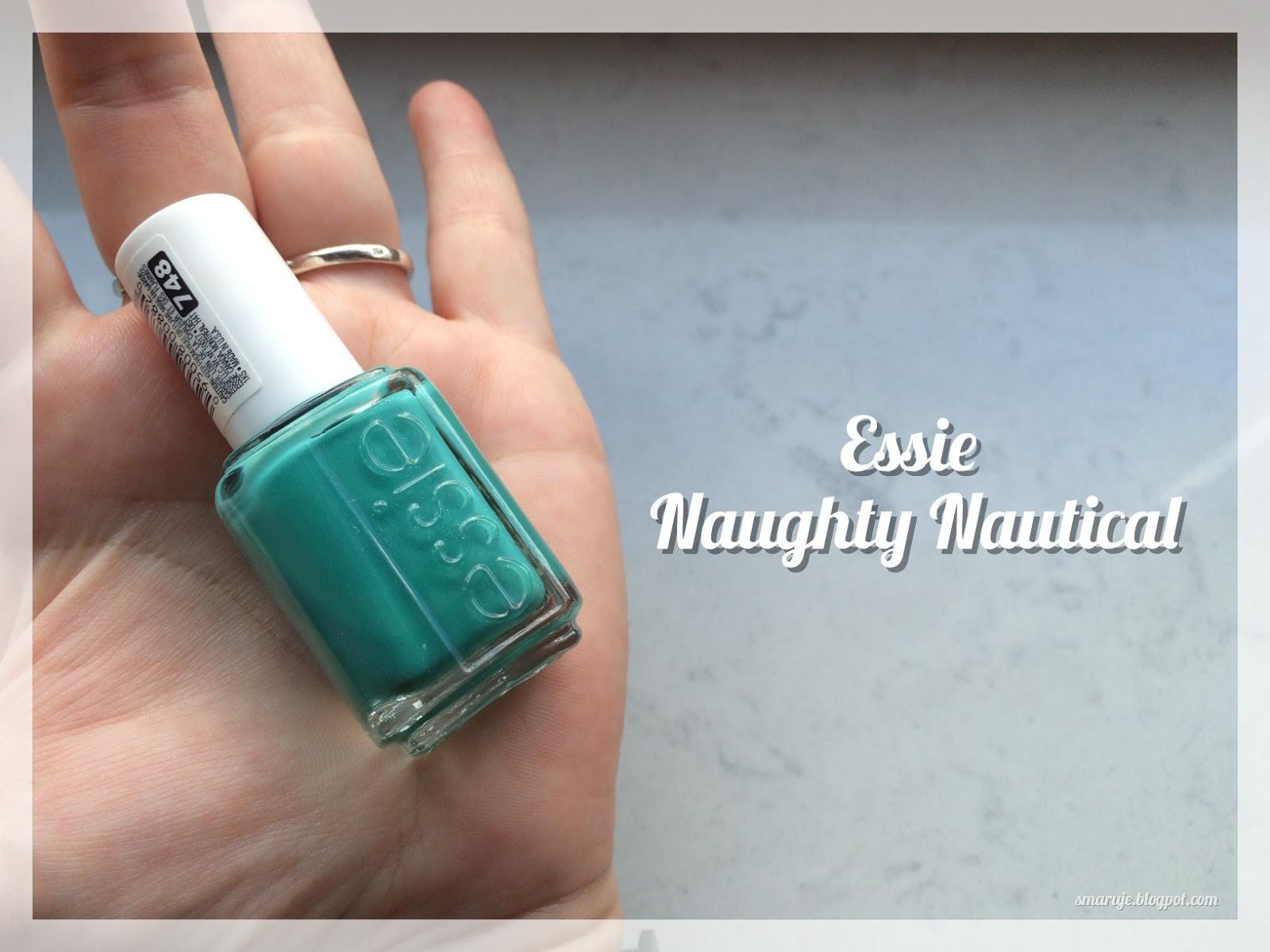 Essie –Naughty Nautical: kolor, któremu latem nie umiem sięoprzeć