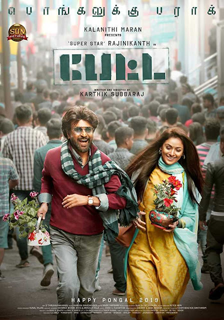 Petta (2019) Hindi 1CD PreDvDRip 480p 720p x264 AAC Audio Cleaned Hindi Dubbed Full Movie Download