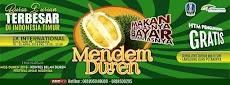 Yuk Sambut Mendem Duren Surabaya 2018, Bursa Durian Terbesar di Indonesia Timur
