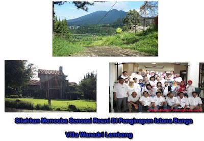 Villa Untuk Reuni Di Lembang 3 konsep Berbeda Citarasa