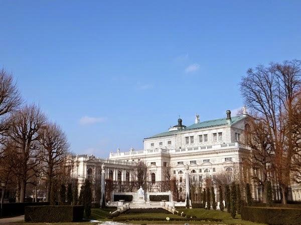 Vienne Wien Innere Stadt Burgtheater