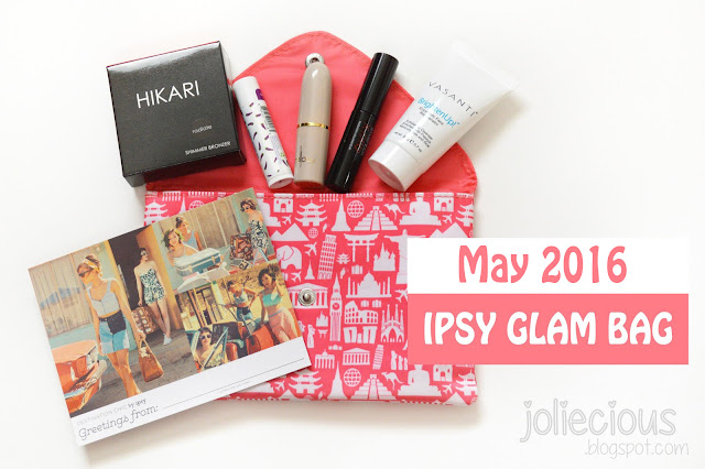 May 2016 Ipsy Glam Bag