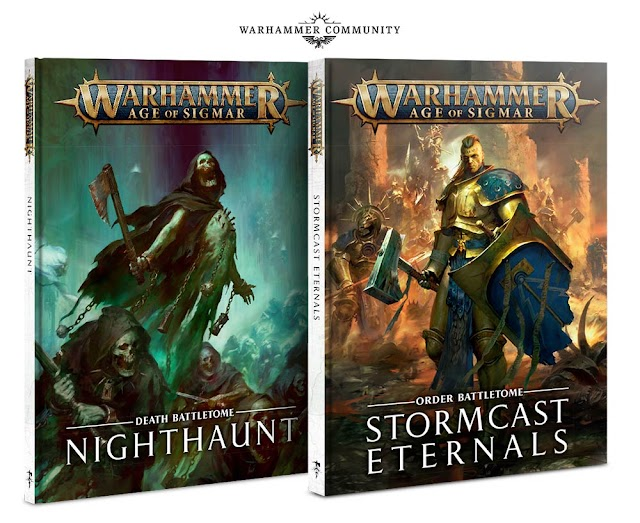 Next Weekend! Nighthaunts, Stormcast Eternals, 2 New Boxes of Faction Endless Spells