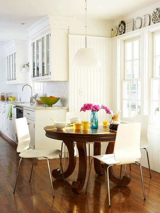 Modern Furniture 2014 Comfort Breakfast Nook Decorating Ideas