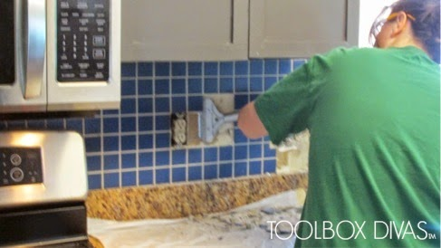 Tile Removal 101: Remove The Tile Backsplash Without Damaging The Drywall Part 60