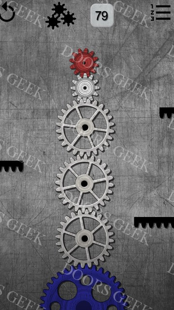 Gears logic puzzles level 79 solution doors geek for 16 door puzzle solution