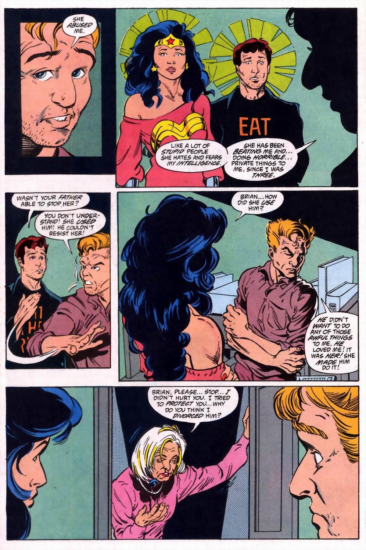Read online Wonder Woman (1987) comic -  Issue #74 - 17