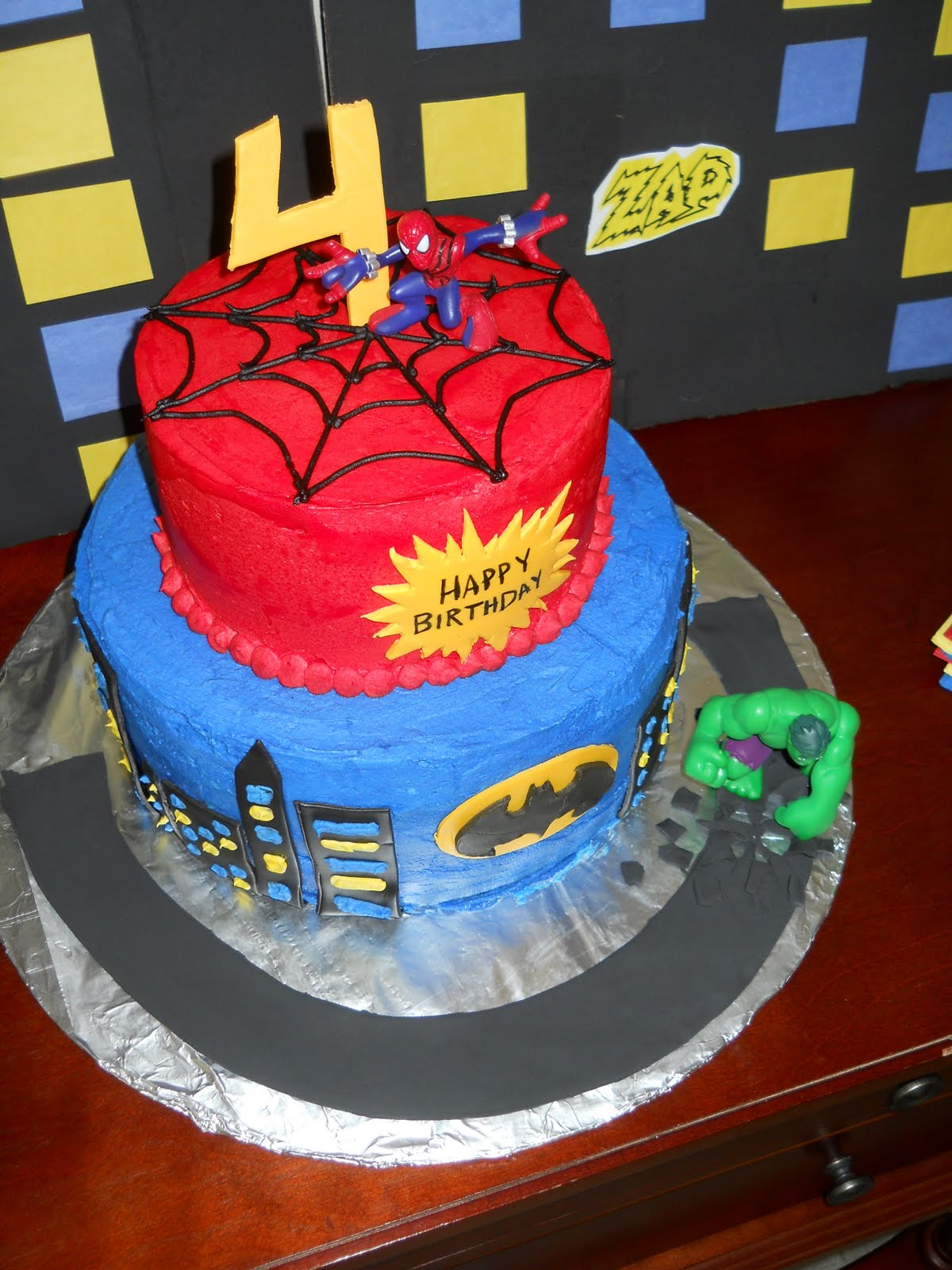 Spiderman Birthday Cake Walmart