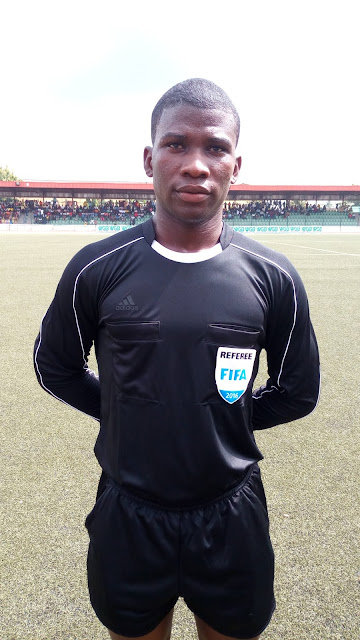 Image result for Adebimpe Quadri, Nigeria's Youngest Referee Set To Officiate A Champions League Match