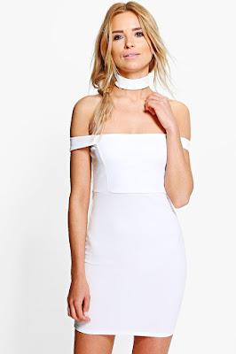 modelos de Vestidos de Fiesta Blancos