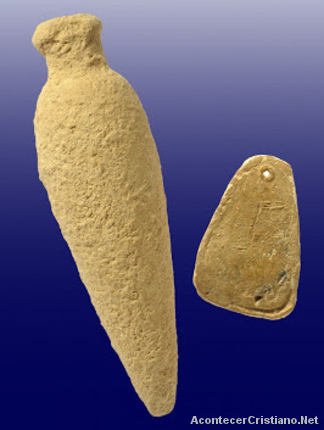 Frasco de perfume de la época de los Asmoneos