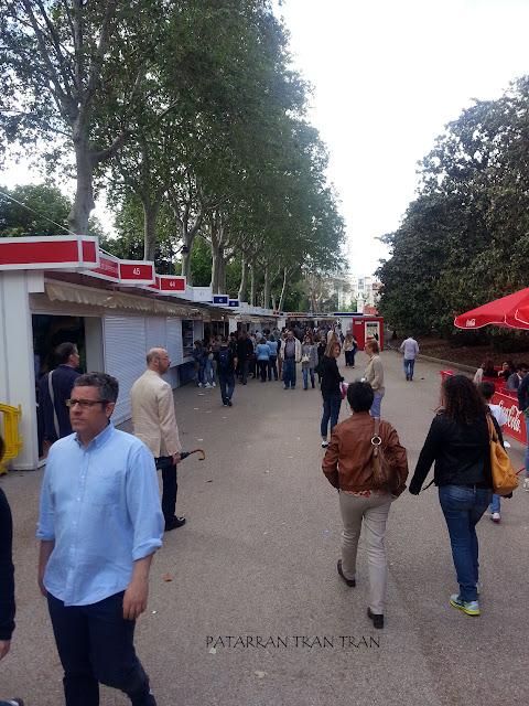 Feria del Libro. Madrid Me Mata... Aunque no siempre.