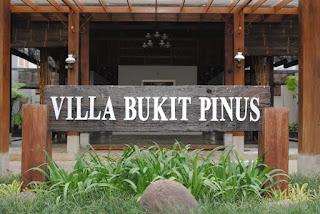 Villa Bukit Pinus Pancawati, Hotel Dengan Fasilitas Outbound Di Bogor