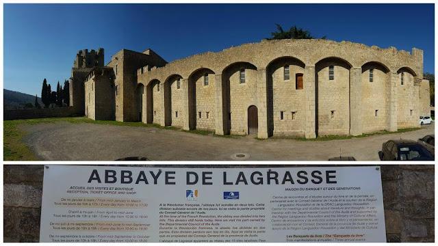 cartel abadia lagrasse