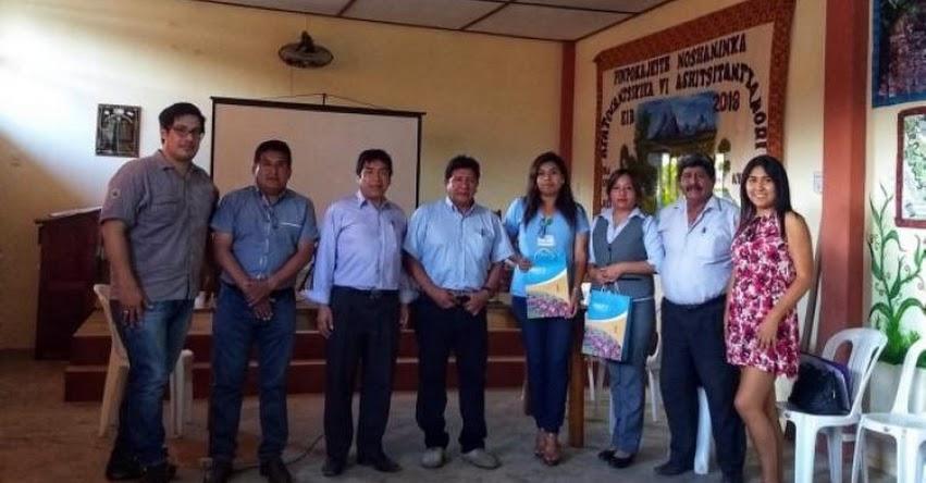 SAN MARTÍN DE PANGOA: Se realizó taller de asistencia técnica para implementar proyectos de innovación - FONDEP - www.fondep.gob.pe