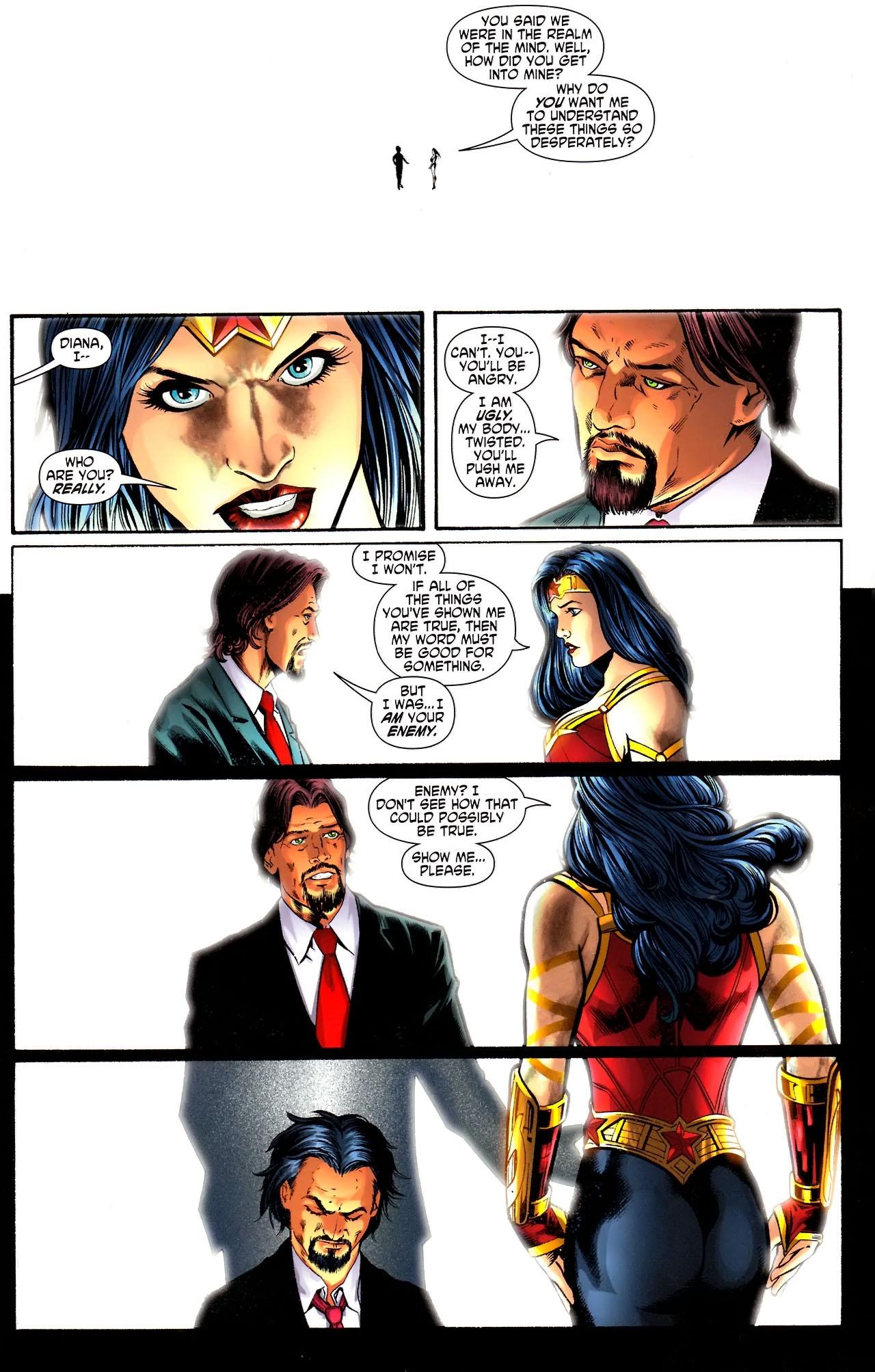 Read online Wonder Woman (2006) comic -  Issue #609 - 12