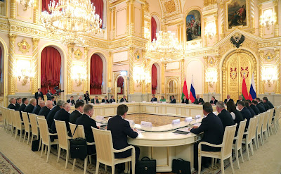 Union State of Russia and Belarus Supreme State Council meeting.