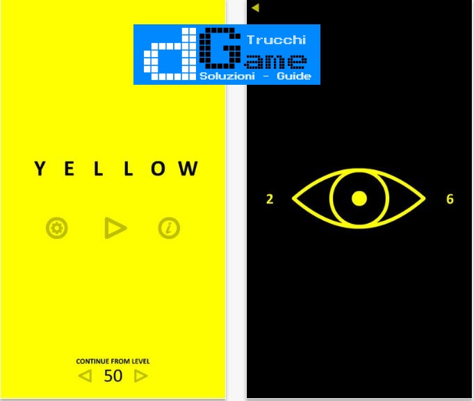 Soluzioni Yellow game livello 1-50 | Trucchi e Walkthrough level