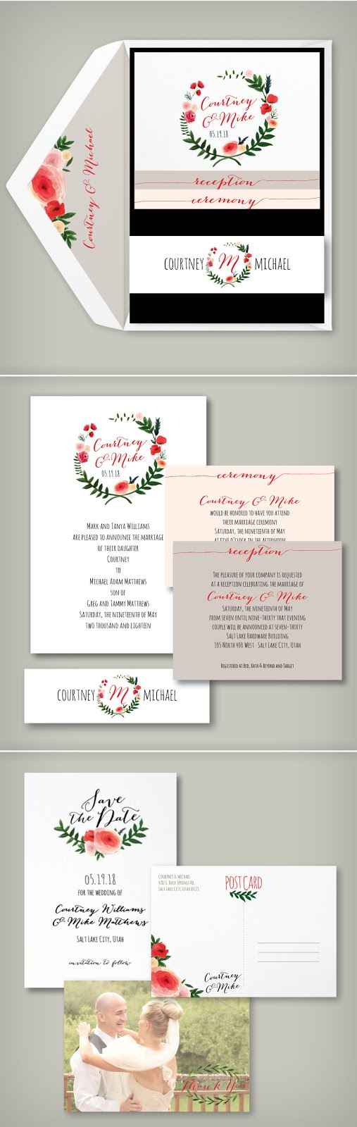 Wedding invitation blog perfect pocket wedding invitation monicamarmolfo Images