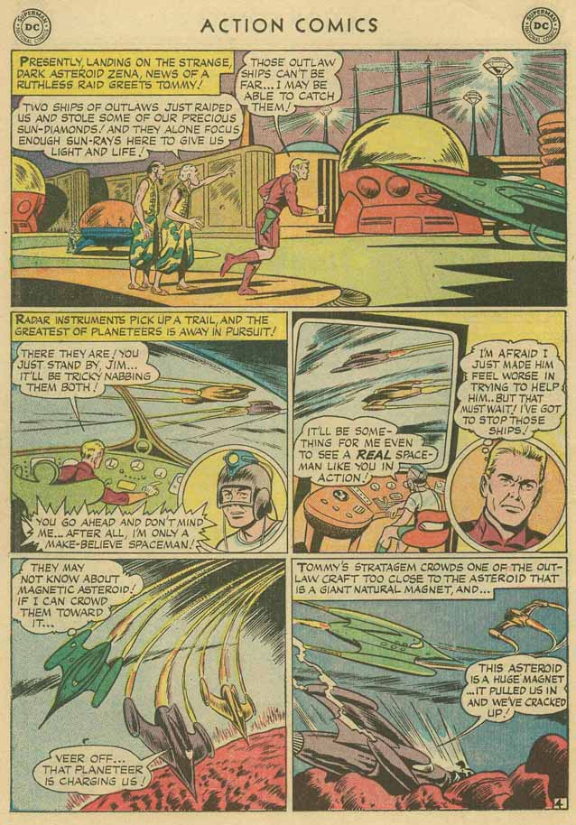 Read online Action Comics (1938) comic -  Issue #169 - 21
