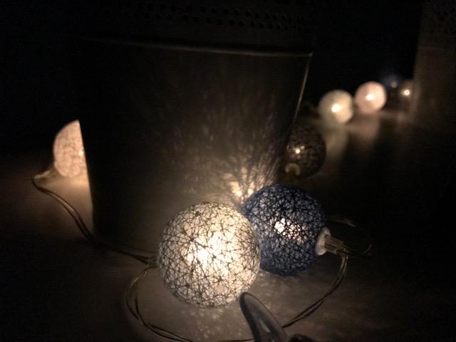 Wochenende in Bildern: Lichterkette