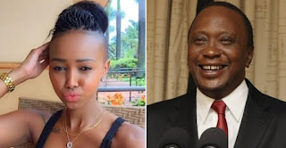 Huddah Monroe reveals plans to become second wife to the President of Kenya